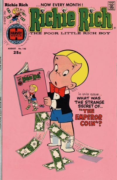 Cover for Richie Rich (Harvey, 1960 series) #145