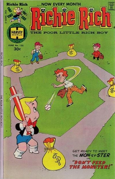 Cover for Richie Rich (Harvey, 1960 series) #155