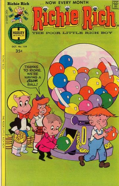 Cover for Richie Rich (Harvey, 1960 series) #159