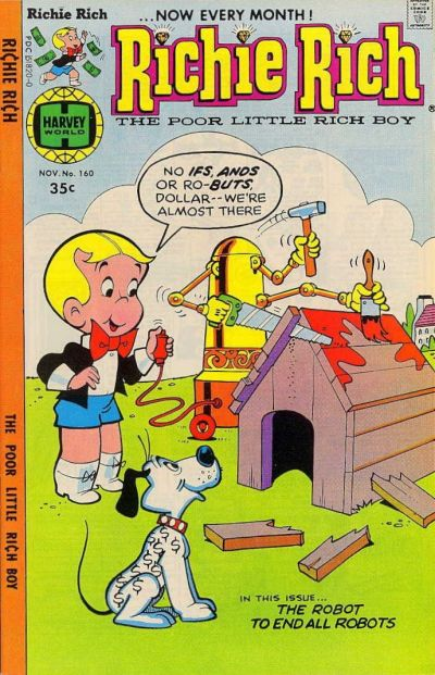 Cover for Richie Rich (Harvey, 1960 series) #160