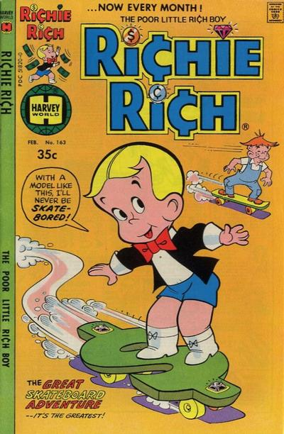 Cover for Richie Rich (Harvey, 1960 series) #163