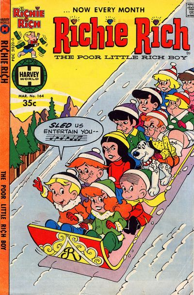 Cover for Richie Rich (Harvey, 1960 series) #164
