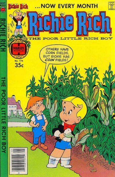 Cover for Richie Rich (Harvey, 1960 series) #174