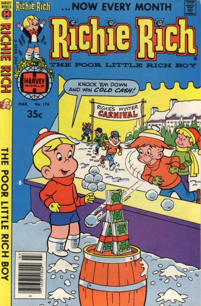 Cover for Richie Rich (Harvey, 1960 series) #176