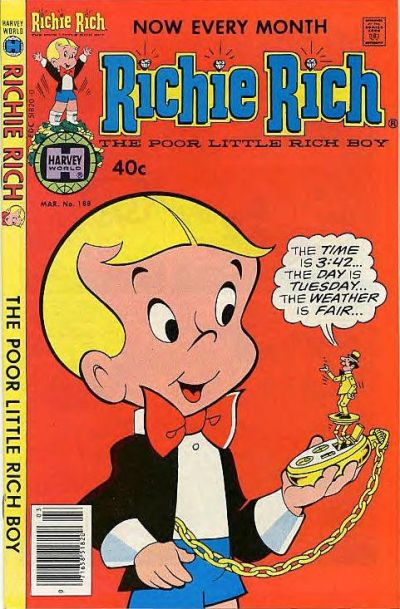Cover for Richie Rich (Harvey, 1960 series) #188