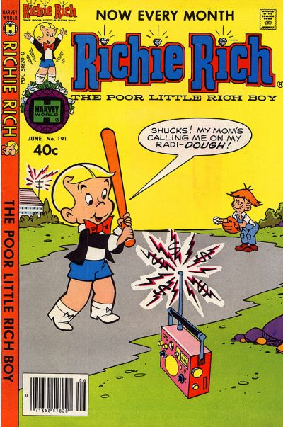 Cover for Richie Rich (Harvey, 1960 series) #191