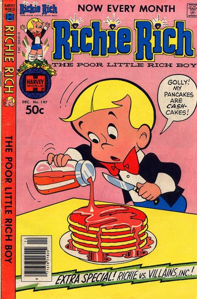 Cover for Richie Rich (Harvey, 1960 series) #197