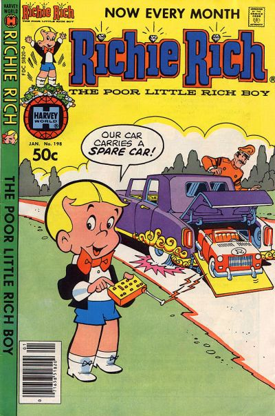 Cover for Richie Rich (Harvey, 1960 series) #198