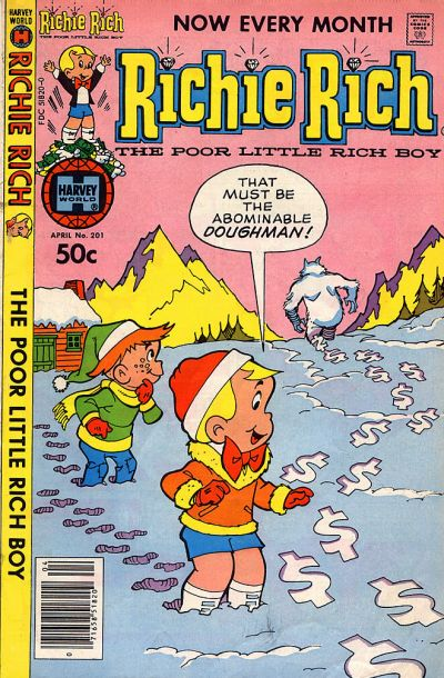 Cover for Richie Rich (Harvey, 1960 series) #201
