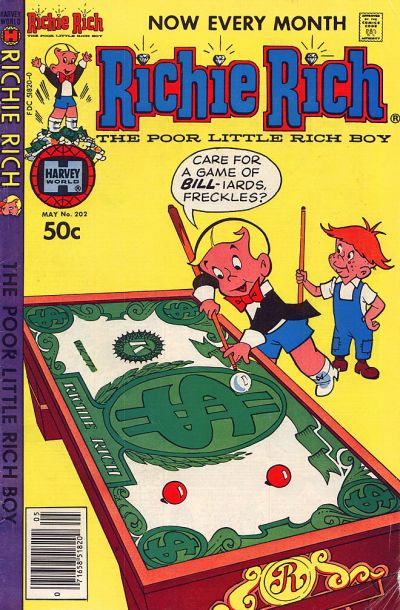 Cover for Richie Rich (Harvey, 1960 series) #202