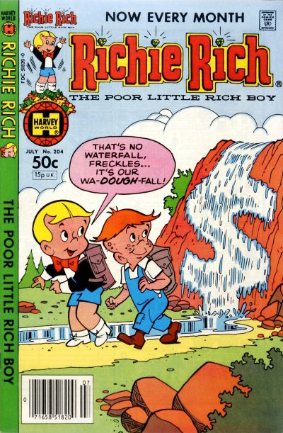 Cover for Richie Rich (Harvey, 1960 series) #204