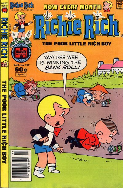 Cover for Richie Rich (Harvey, 1960 series) #217