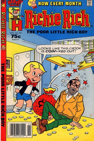 Cover for Richie Rich (Harvey, 1960 series) #220