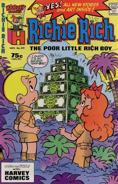 Cover for Richie Rich (Harvey, 1960 series) #231