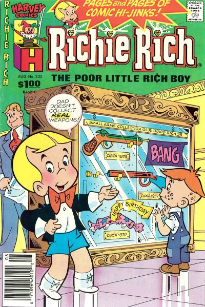 Cover for Richie Rich (Harvey, 1960 series) #235