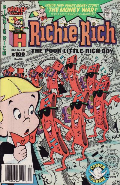 Cover for Richie Rich (Harvey, 1960 series) #237
