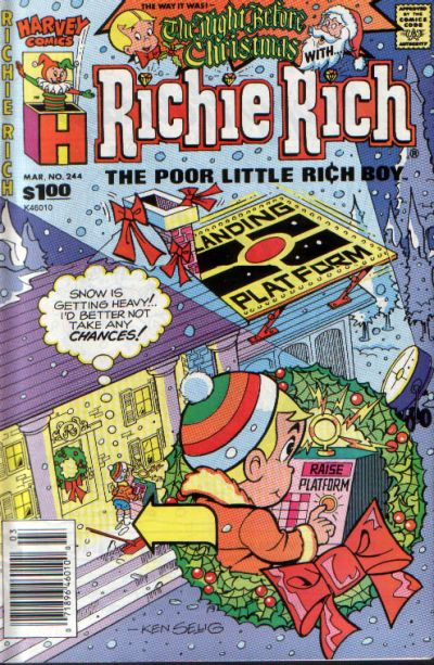 Cover for Richie Rich (Harvey, 1960 series) #244