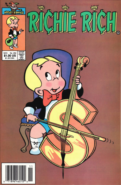 Cover for Richie Rich (Harvey, 1960 series) #252