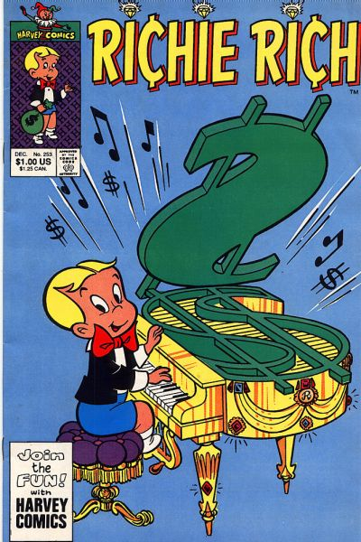 Cover for Richie Rich (Harvey, 1960 series) #253