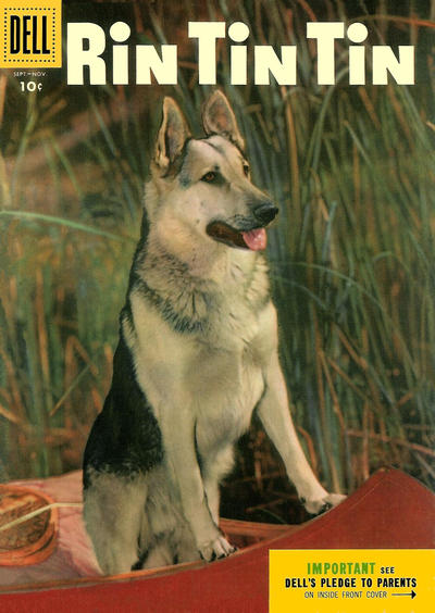 Cover for Rin Tin Tin (Dell, 1954 series) #10