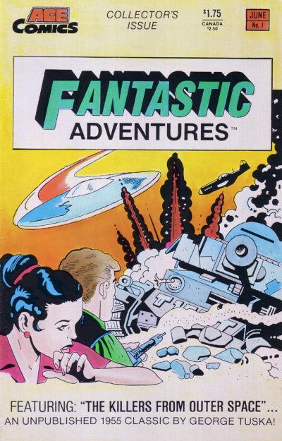 Cover for Fantastic Adventures (A.C.E. Comics, 1987 series) #1