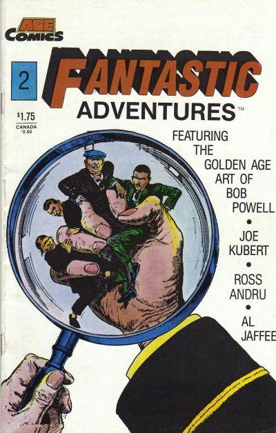 Cover for Fantastic Adventures (A.C.E. Comics, 1987 series) #2