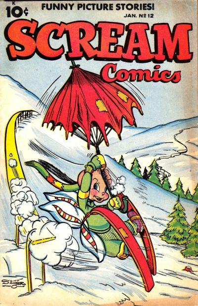 Cover for Scream Comics (Ace Magazines, 1944 series) #12