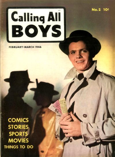Cover for Calling All Boys (Parents' Magazine Press, 1946 series) #2