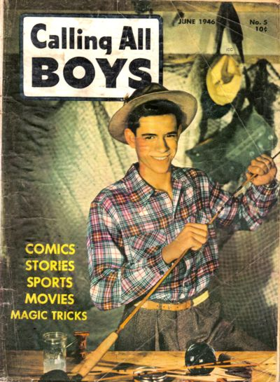 Cover for Calling All Boys (Parents' Magazine Press, 1946 series) #5