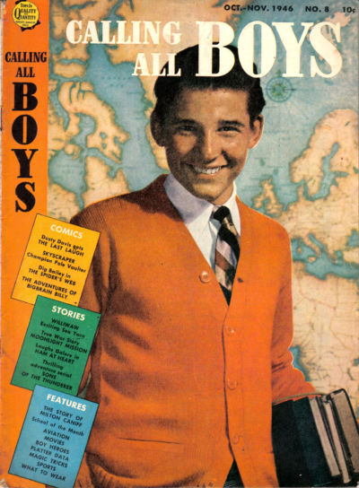 Cover for Calling All Boys (Parents' Magazine Press, 1946 series) #8