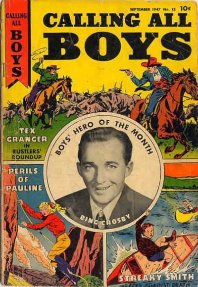 Cover for Calling All Boys (Parents' Magazine Press, 1946 series) #13