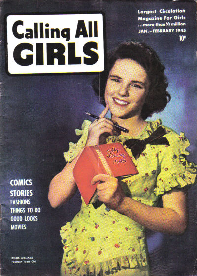 Cover for Calling All Girls (Parents' Magazine Press, 1941 series) #36