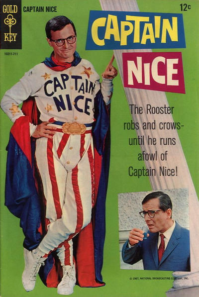 Cover for Captain Nice (Western, 1967 series) #1