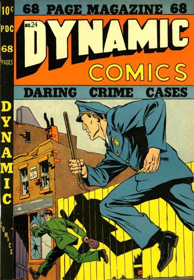 Cover for Dynamic Comics (Superior, 1947 series) #24
