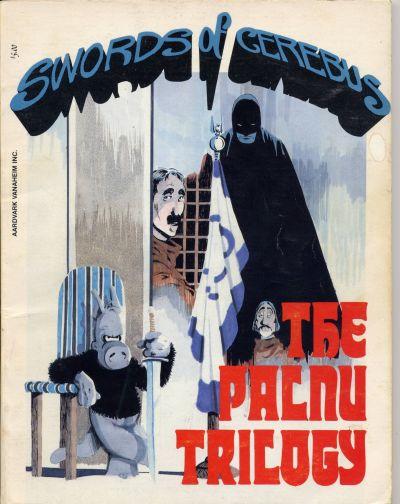 Cover for Swords of Cerebus (Aardvark-Vanaheim, 1981 series) #4