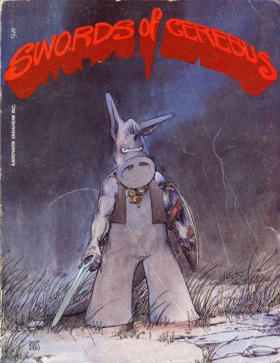 Cover for Swords of Cerebus (Aardvark-Vanaheim, 1981 series) #5