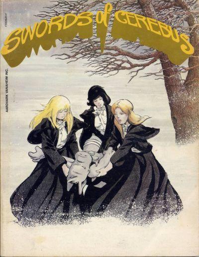 Cover for Swords of Cerebus (Aardvark-Vanaheim, 1981 series) #6