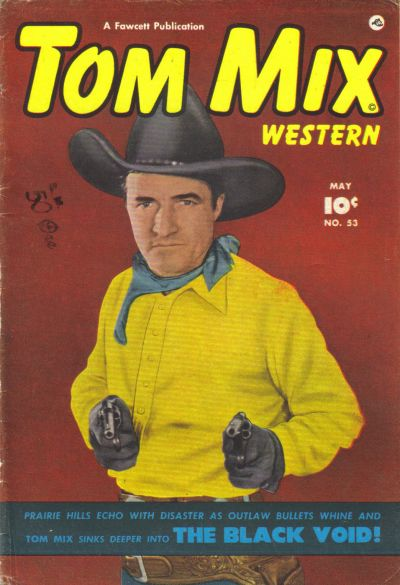 Cover for Tom Mix Western (Fawcett, 1948 series) #53