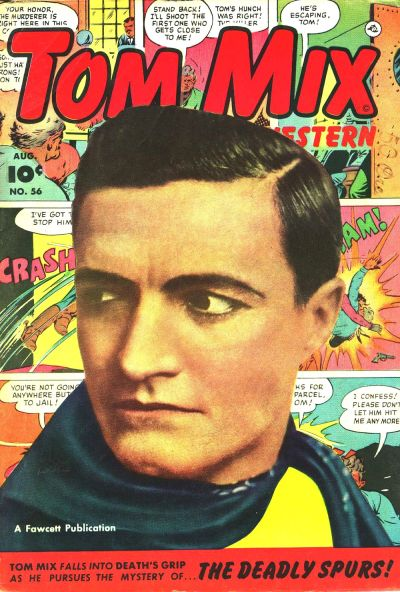 Cover for Tom Mix Western (Fawcett, 1948 series) #56