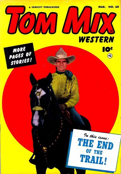 Cover for Tom Mix Western (Fawcett, 1948 series) #60