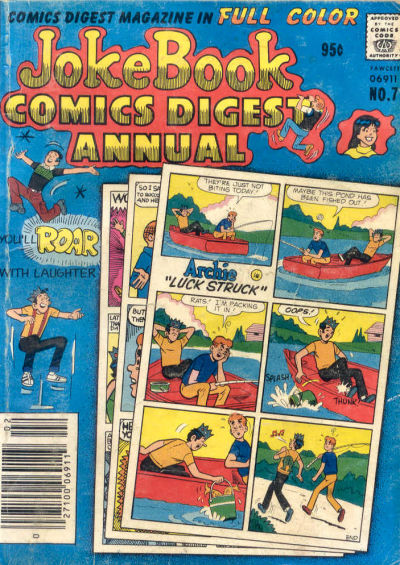 Cover for Jokebook Comics Digest Annual (Archie, 1977 series) #7