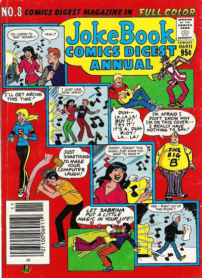 Cover for Jokebook Comics Digest Annual (Archie, 1977 series) #8
