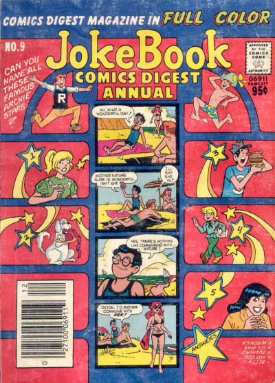 Cover for Jokebook Comics Digest Annual (Archie, 1977 series) #9