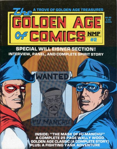 Cover for Golden Age of Comics (New Media Publishing, 1982 series) #2