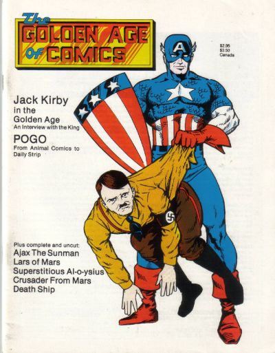 Cover for Golden Age of Comics (New Media Publishing, 1982 series) #6