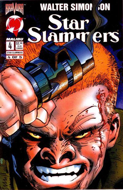 Cover for Star Slammers (Malibu, 1994 series) #4