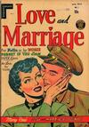 Cover for Love and Marriage (Superior Publishers Limited, 1952 series) #1