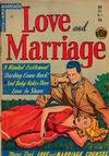 Cover for Love and Marriage (Superior, 1952 series) #11