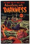 Cover for Adventures into Darkness (Pines, 1952 series) #14