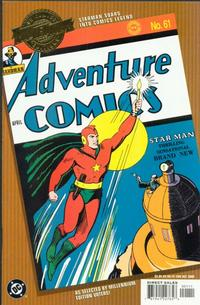 Cover Thumbnail for Millennium Edition: Adventure Comics 61 (DC, 2000 series)
